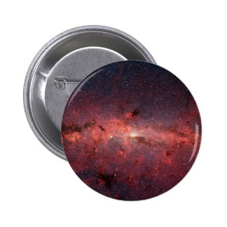 Milky Way Galactic Center, Stars, Clouds, Clusters 2 Inch Round Button