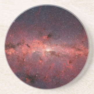 Milky Way Galactic Center, Stars, Clouds, Clusters Drink Coaster