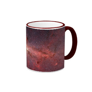 Milky Way Galactic Center, Stars, Clouds, Clusters Ringer Coffee Mug