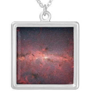 Milky Way Galactic Center, Stars, Clouds, Clusters Custom Necklace