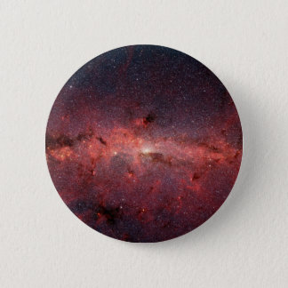 Milky Way Galactic Center, Stars, Clouds, Clusters Pinback Button