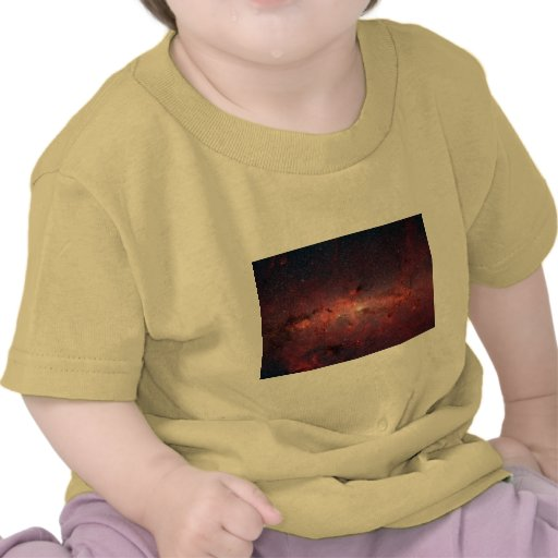 Milky Way Galactic Center, Stars, Clouds, Clusters Shirt