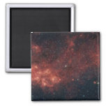 Milky Way Galaxy 2 Inch Square Magnet