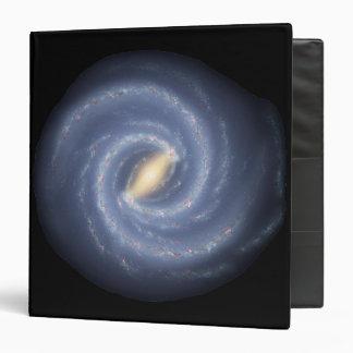Milky Way Galaxy Vinyl Binder