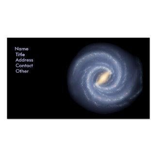 Milky Way Galaxy Business Card Templates