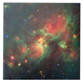 Milky Way Galaxy Ceramic Tile