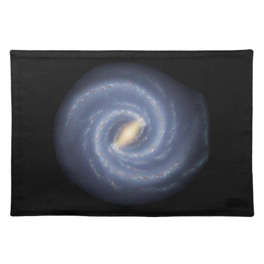 Milky Way Galaxy Cloth Placemat