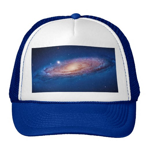 Milky Way Galaxy Hat by S. Ambrose
