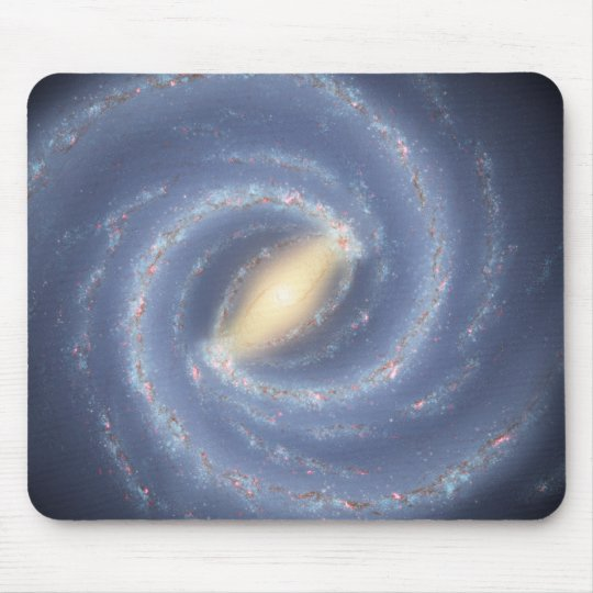 Milky Way Galaxy Mouse Pad