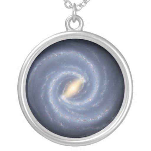 Milky Way Galaxy Custom Necklace