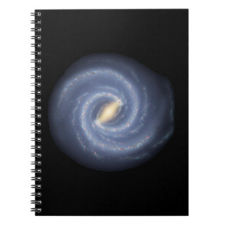 Milky Way Galaxy Spiral Note Book