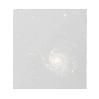 milky way galaxy notepad