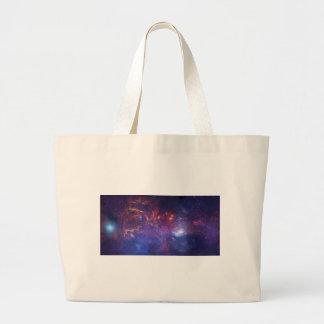 Milky Way Galaxy - Our Beautiful Neighborhood Bags
