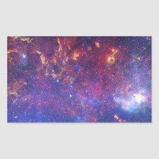 Milky Way Galaxy - Our Beautiful Neighborhood Rectangular Sticker