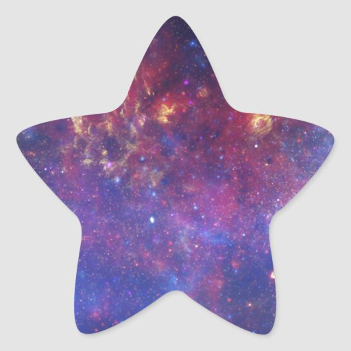 Milky Way Galaxy - Our Beautiful Neighborhood Sticker