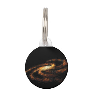Milky Way galaxy Pet Tag