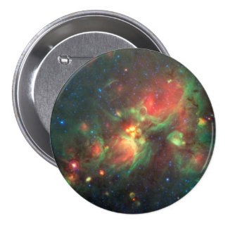 Milky Way Galaxy Pinback Button