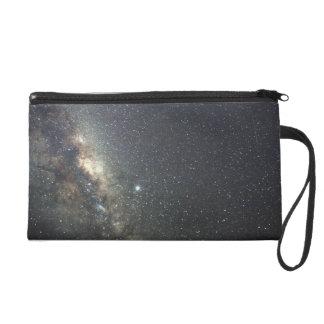 Milky Way Galaxy Print Wristlet