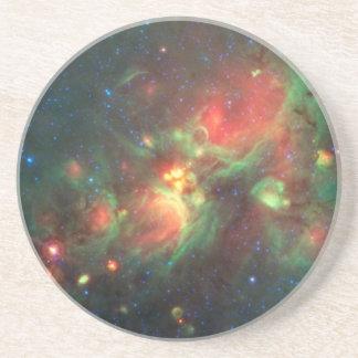 Milky Way Galaxy Sandstone Coaster