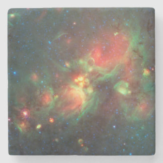 Milky Way Galaxy Stone Coaster