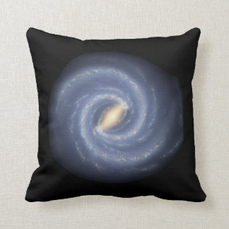 Milky Way Galaxy Throw Pillow