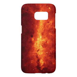 Milky Way in Infrared From Hubble Space Telescope Samsung Galaxy S7 Case