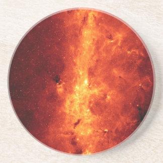 Milky Way in Infrared Sandstone Coaster