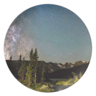 Milky Way Magic Longs Lake and the Indian Peaks Dinner Plate
