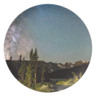 Milky Way Magic Longs Lake and the Indian Peaks Dinner Plate