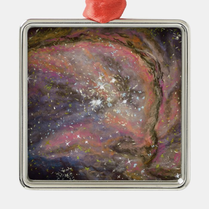 Milky Way Metal Ornament