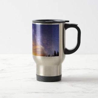 Milky Way Night to Day Travel Mug