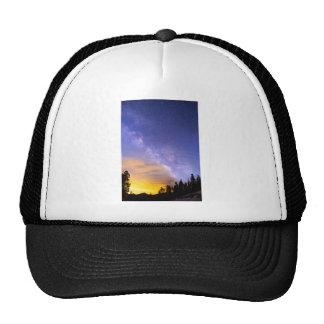 Milky Way Night to Day Trucker Hat
