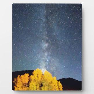 Milky Way October Sky Display Plaques