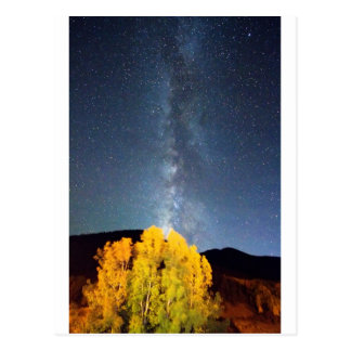 Milky Way October Sky Postcard