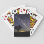 "Milky Way over Joshua Tree Playing Cards<br><div class=""desc"">Milky Way shining over Joshua Tree</div>"