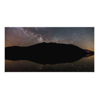Milky Way over Lake McDonald, Glacier NP Card
