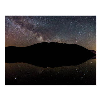 Milky Way over Lake McDonald, Glacier NP Postcard