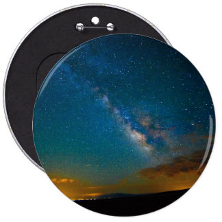 Milky Way over Taos, New Mexico Button