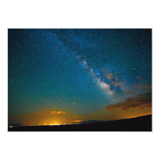 Milky Way over Taos, New Mexico Card