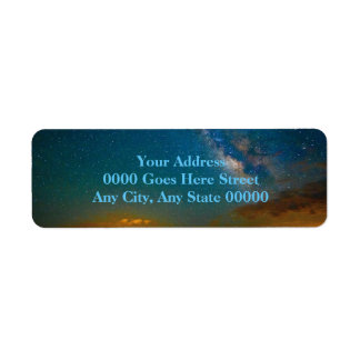 Milky Way over Taos, New Mexico Label