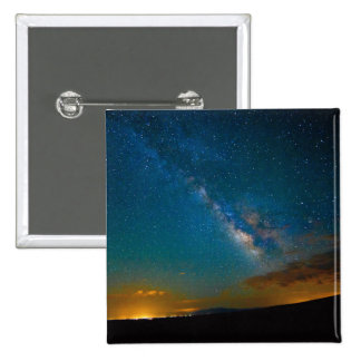 Milky Way over Taos, New Mexico Pinback Button