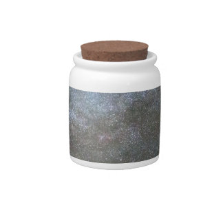 Milky Way Perseid Meteor Shower Candy Jar