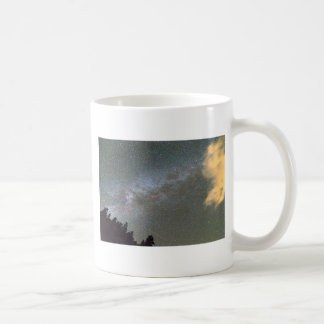 Milky Way Perseid Meteor Shower Coffee Mug