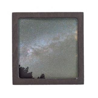 Milky Way Perseid Meteor Shower Jewelry Box