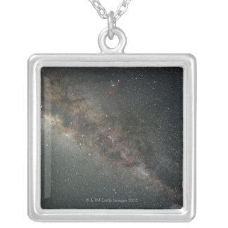 Milky Way Square Pendant Necklace
