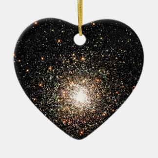 Milky Way Star Cluster Ceramic Ornament