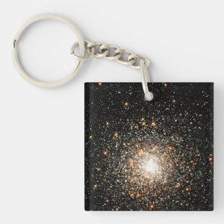 Milky Way Star Cluster Keychain
