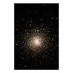 Milky Way Star Cluster Poster