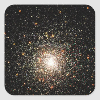 Milky Way Star Cluster Square Sticker