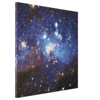 Milky Way Star Formation Stellar Nursery LH 95 Canvas Print